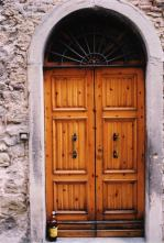 The doors of Cortona
