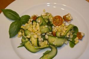 Photo of zucchini and corn salad