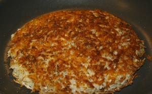 Photo of a potato pancake